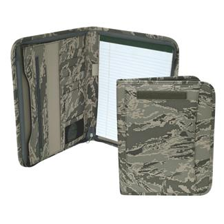 Mercury Luggage Zippered Padfolio Air Force Digital