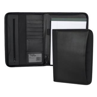 Mercury Luggage Zippered Padfolio Black