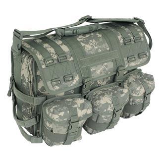 Mercury Luggage Computer Messenger Bag Army Digital
