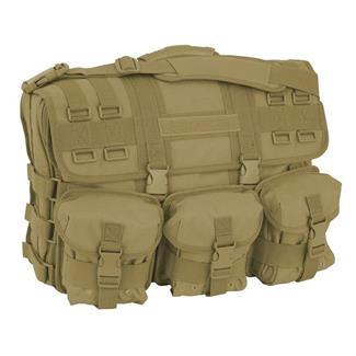 Mercury Luggage Computer Messenger Bag Coyote