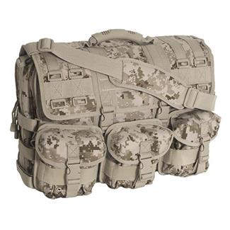 Mercury Luggage Computer Messenger Bag Marpat Desert