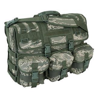 Mercury Luggage Computer Messenger Bag Air Force Digital