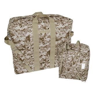 Mercury Luggage Backpack Kit Bag Marpat Desert