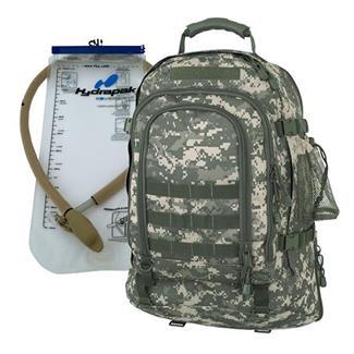 Mercury Luggage Tac Pak with Hydrapak Army Digital