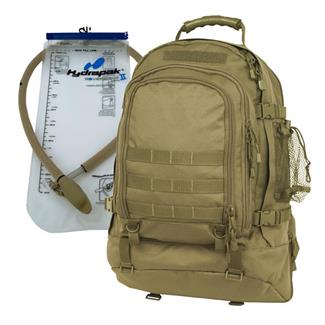 Mercury Luggage Tac Pak with Hydrapak Coyote