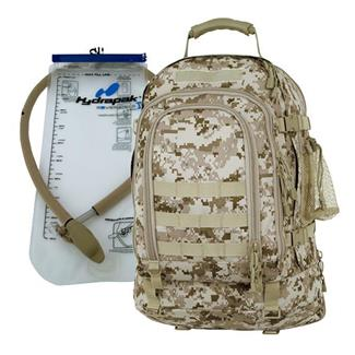 Mercury Luggage Tac Pak with Hydrapak Marpat Desert