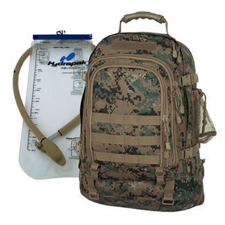 Mercury Luggage Tac Pak with Hydrapak Marpat Woodland