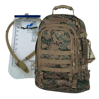 Mercury Luggage Tac Pak with Hydrapak Marpat Woodland
