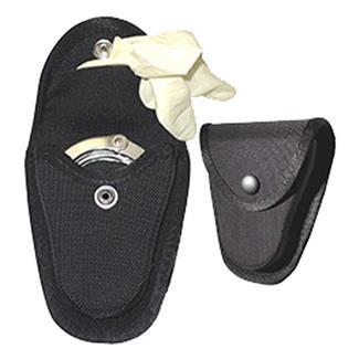 Gould & Goodrich Nylon Handcuff Case / Glove Pouch Black Plain