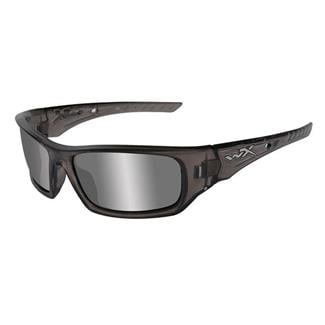 Wiley X Arrow Liquid Gray (frame) - Silver Flash (lens)