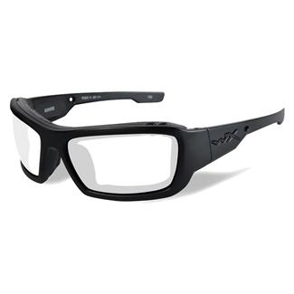 Wiley X Knife Matte Black (frame) - Clear (lens)