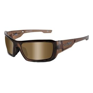 Wiley X Knife Brown Crystal Polarized Bronze