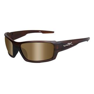 Wiley X Rebel Matte Tortoise Polarized Bronze