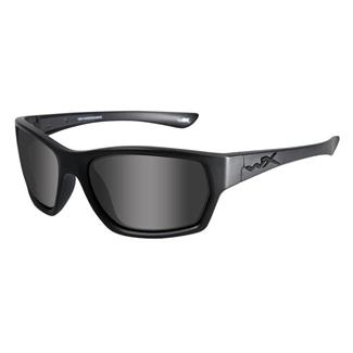 Wiley X Moxy Matte Black (frame) - Black Ops Smoke Gray (lens)