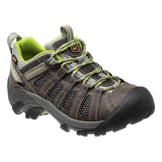 Keen Voyageur Neutral Gray / Lime Green