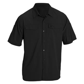 5.11 Freedom Flex Short Sleeve Woven Shirts Black