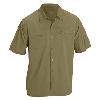 5.11 Freedom Flex Short Sleeve Woven Shirts Underbrush
