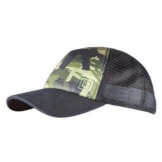 5.11 Gun Camo Hat Black