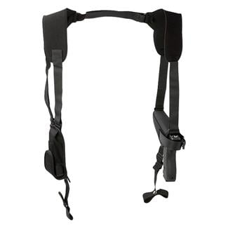 Uncle Mike's Pro-Pak Horizontal Shoulder Holster Black