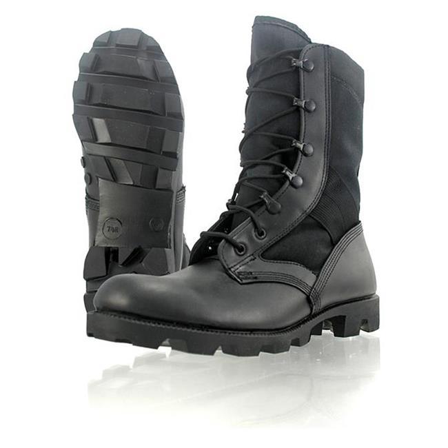 "Wellco 8"" Jungle Combat Black"