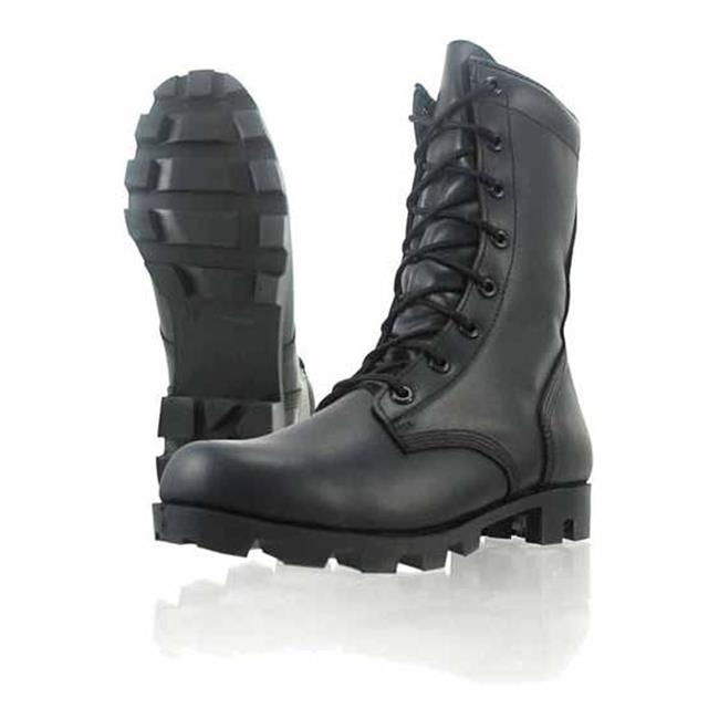 "Wellco 8"" All Leather Jungle Combat Black"
