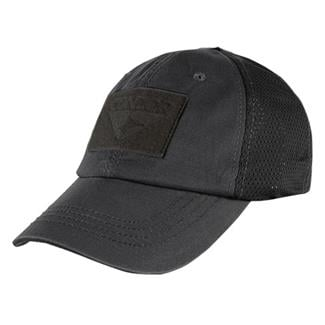 Condor Mesh Tactical Cap Black