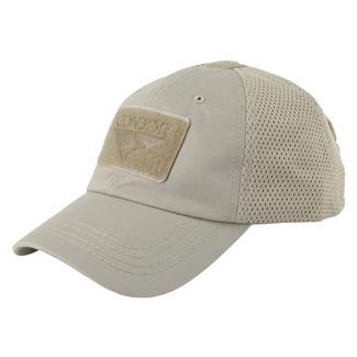 Condor Mesh Tactical Cap Tan