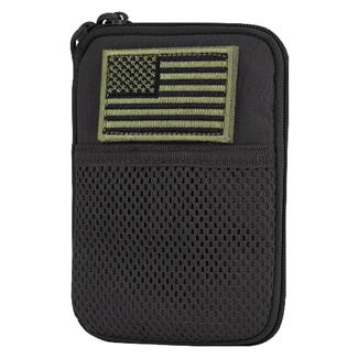 Condor Pocket Pouch with US Flag Patch Black