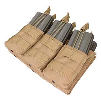 Condor Triple Stacker M4 Mag Pouch Tan