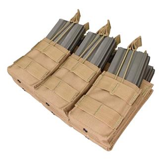 Condor Triple Stacker M4 Mag Pouch Tan