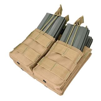 Condor Double Stacker M4 Mag Pouch Tan