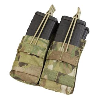 Condor Double Stacker M4 Mag Pouch MultiCam