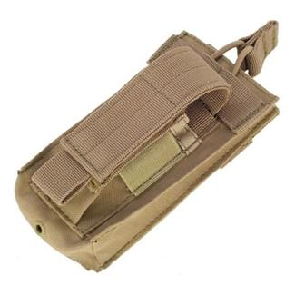 Condor Single Kangaroo Mag Pouch Tan