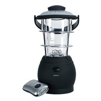 Nebo Wind Up Lantern & Flashlight Combo Black