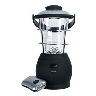Nebo Wind Up Lantern & Flashlight Combo Black