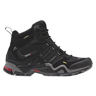 Adidas Terrex Fast X Mid GTX Carbon / Black / Light Scarlet
