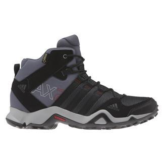 Adidas AX 2 Mid GTX Dark Shale / Black / Light Scarlet