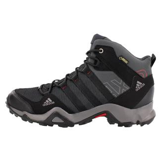 Adidas AX2 Mid GTX Dark Shale / Black / Light Scarlet
