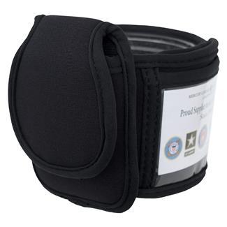 Mercury Luggage Arm & Ankle ID Holder Black