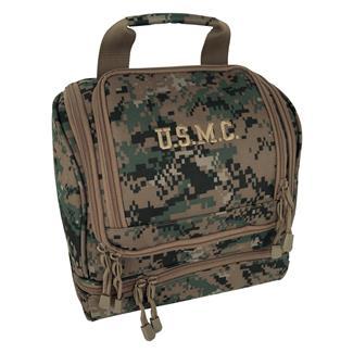 Mercury Luggage USMC Hanging Shave Utility Kit Marpat Woodland