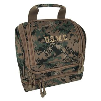 Mercury Luggage USMC Hanging Shave Utility Kit Marpat Woodland
