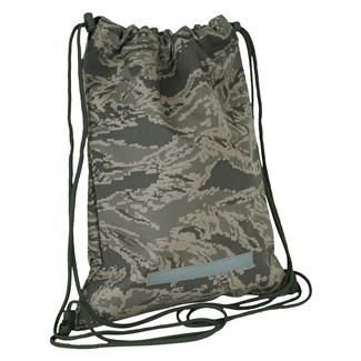 Mercury Luggage Drawstring Backpack Air Force Digital