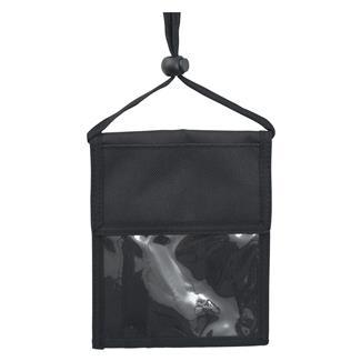 Mercury Luggage Neck ID Holder Black