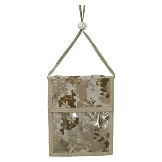 Mercury Luggage Neck ID Holder Marpat Desert