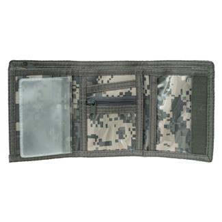 Mercury Luggage Tri-Fold Wallet Army Digital