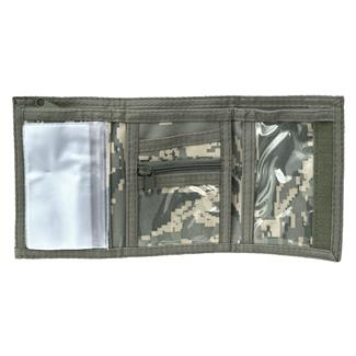 Mercury Luggage Tri-Fold Wallet Air Force Digital