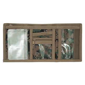 Mercury Luggage Tri-Fold Wallet Marpat Woodland