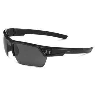 Under Armour Igniter 2.0 Storm Shiny Black Gray Storm Polarized