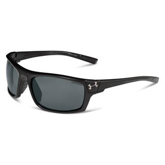 Under Armour Keepz Storm Satin Black (frame) - Gray Storm Polarized (lens)