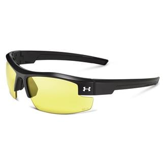 Under Armour Reliance Satin Black (frame) - Yellow (lens)